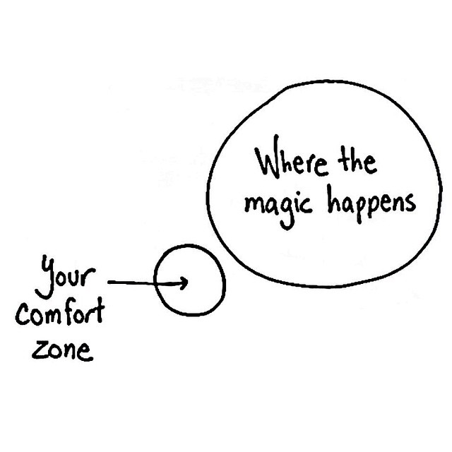 Life Coach, Step Outside Your Comfort Zone